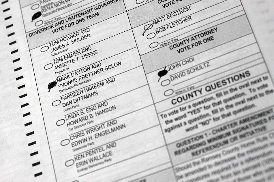 Challenged ballots