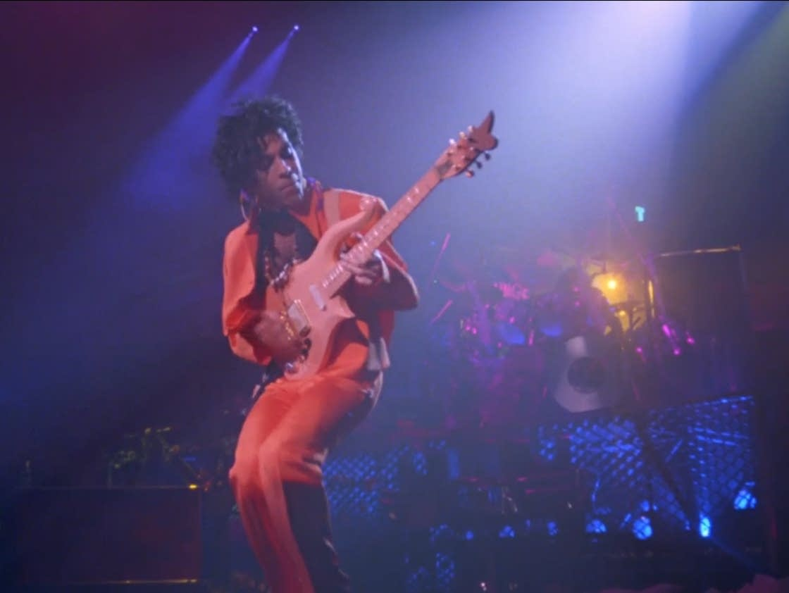 Prince in the film 'Sign o' the Times.'