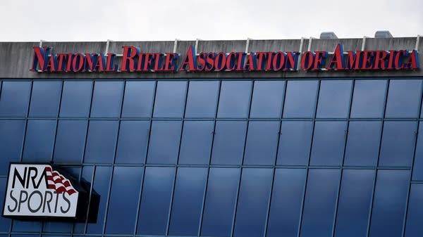 The National Riffle Association of America headquarters.