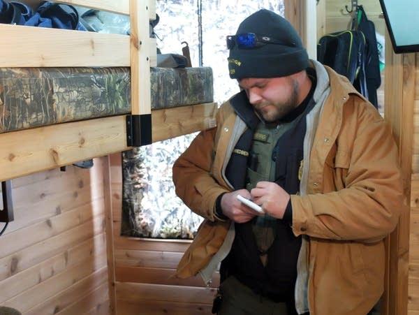 a conservation officer write a citation