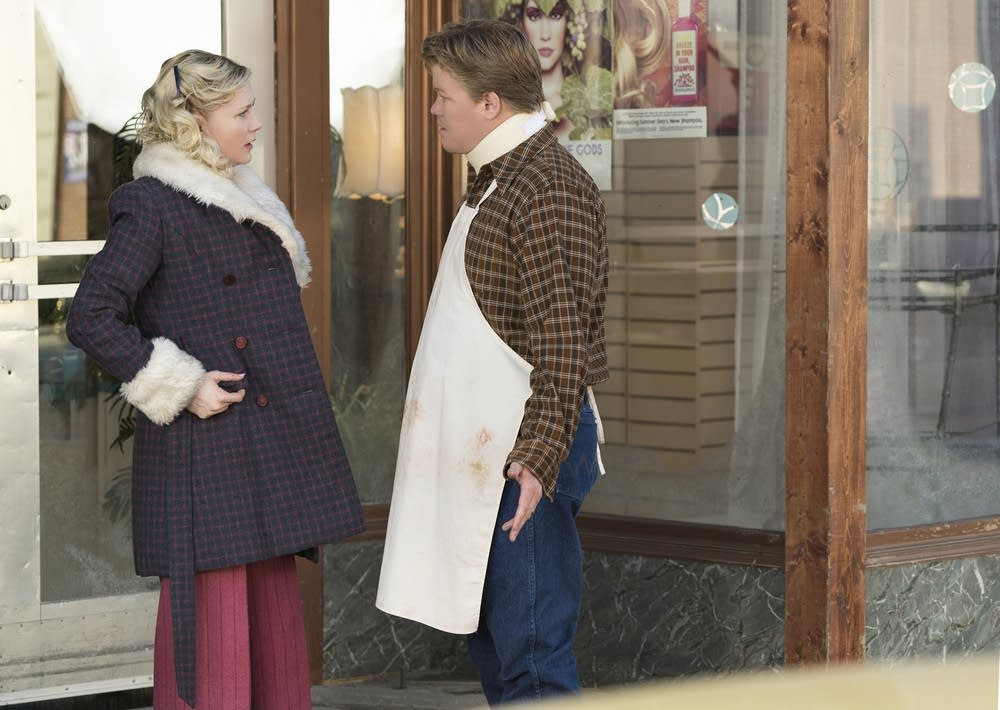 Kirsten Dunst and Jesse Plemons in 'Fargo'