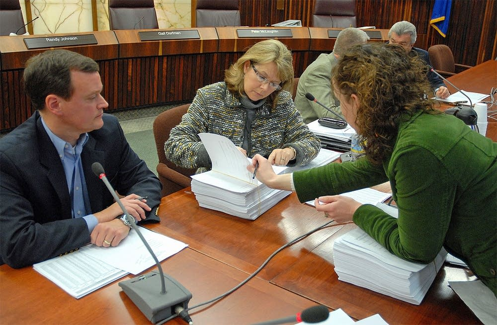 County auditor signs vote certification