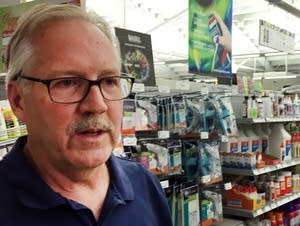 Larry Brown, co-owner of Art Materials in south Minneapolis
