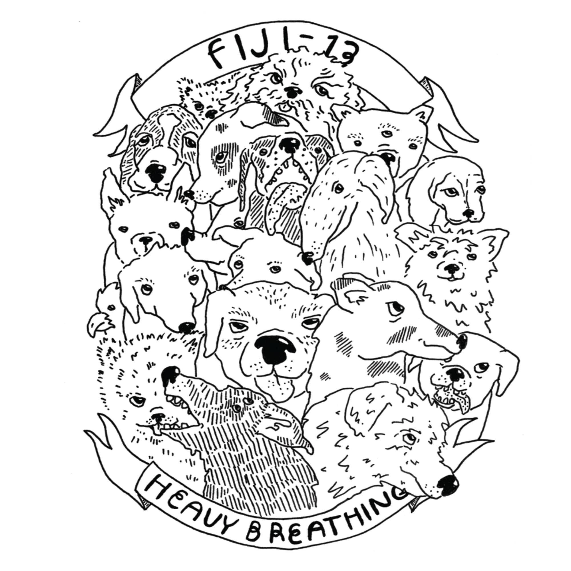 FIJI-13 'Heavy Breathing' cover art