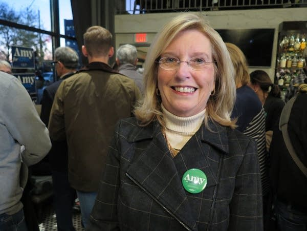 Former Iowa Democratic Party Chairwoman Andy McGuire