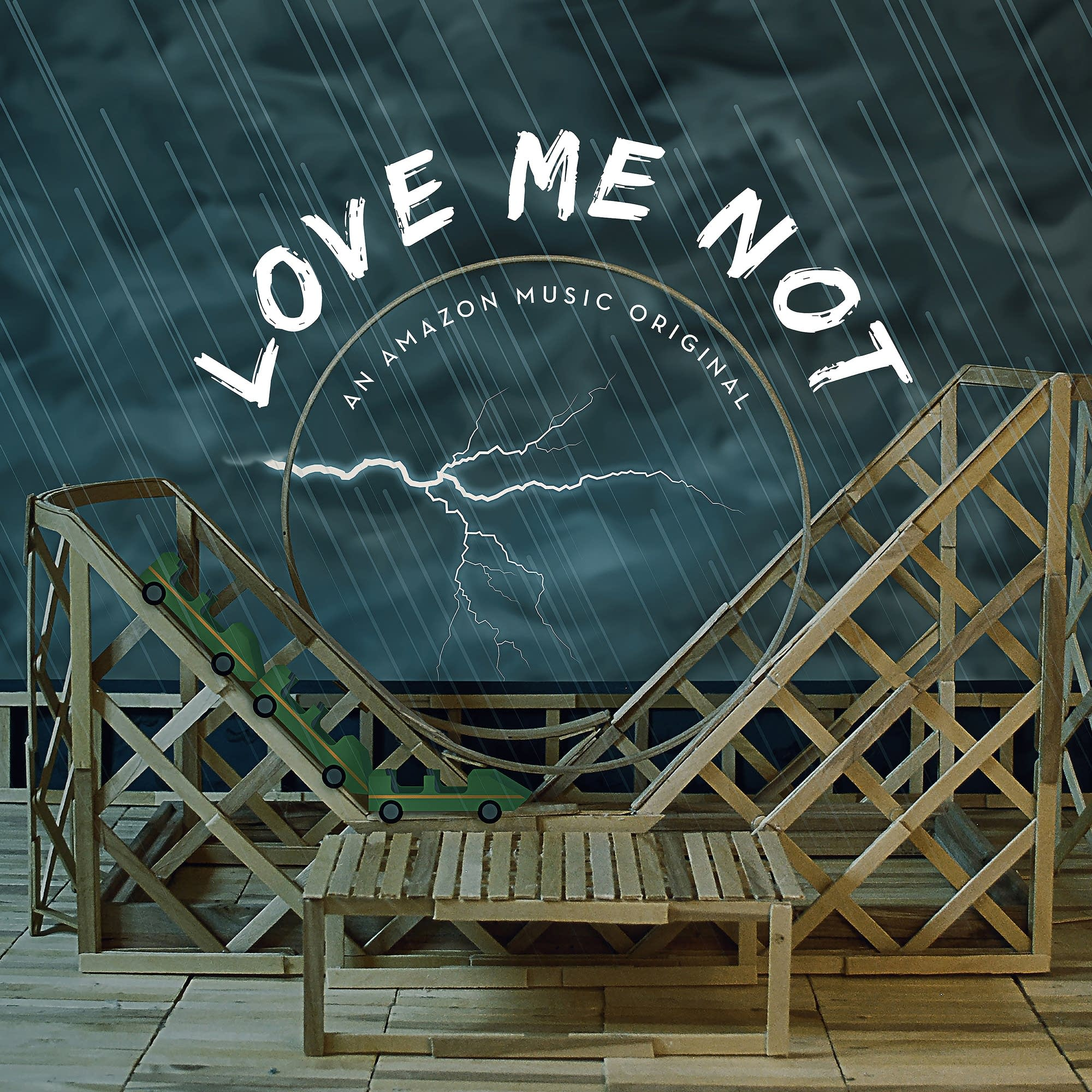 Amazon Music's 'Love Me Not' playlist artwork