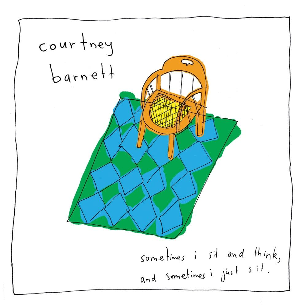 Courtney Barnett Sometimes I Sit and Think