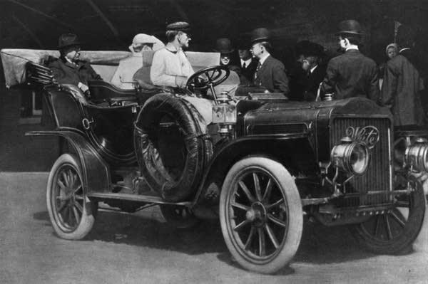President Theodore Roosevelt's Car