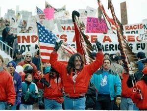 Super Bowl XXVI Protest