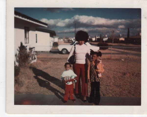 Kevin Beacham at age 4 in El Paso