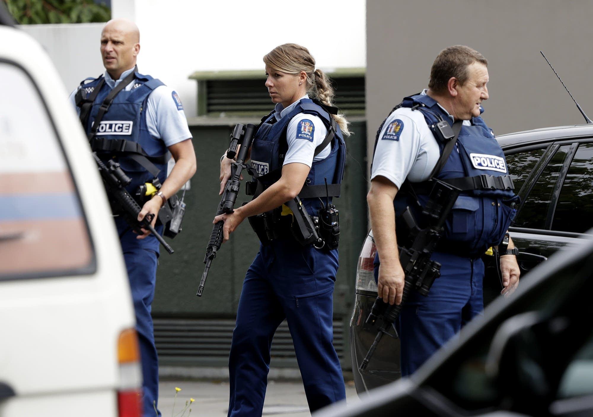 Mass Shooting Christchurch Video News: Mass Shootings At New Zealand Mosques Kill 49; 1 Man