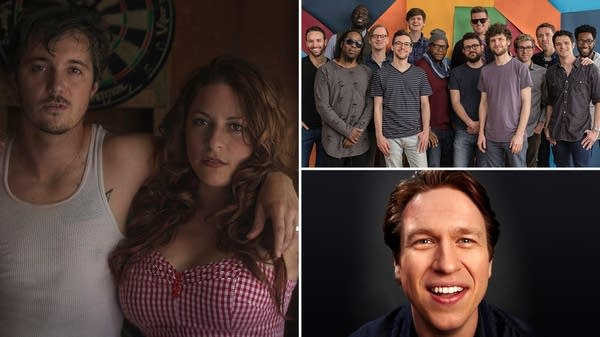 Shovels & Rope, Snarky Puppy, Pete Holmes