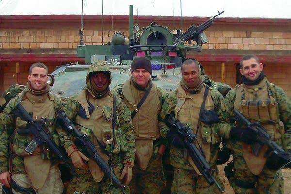 Battalion members