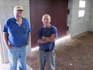Clarence Maki, left, and Jim Maggi