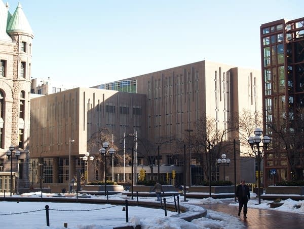 Hennepin County jail in downtown Minneapolis is seen on Dec. 23, 2005.