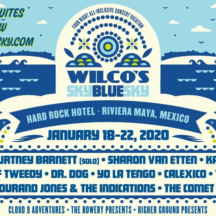 Wilco Sky Blue Sky Giveaway