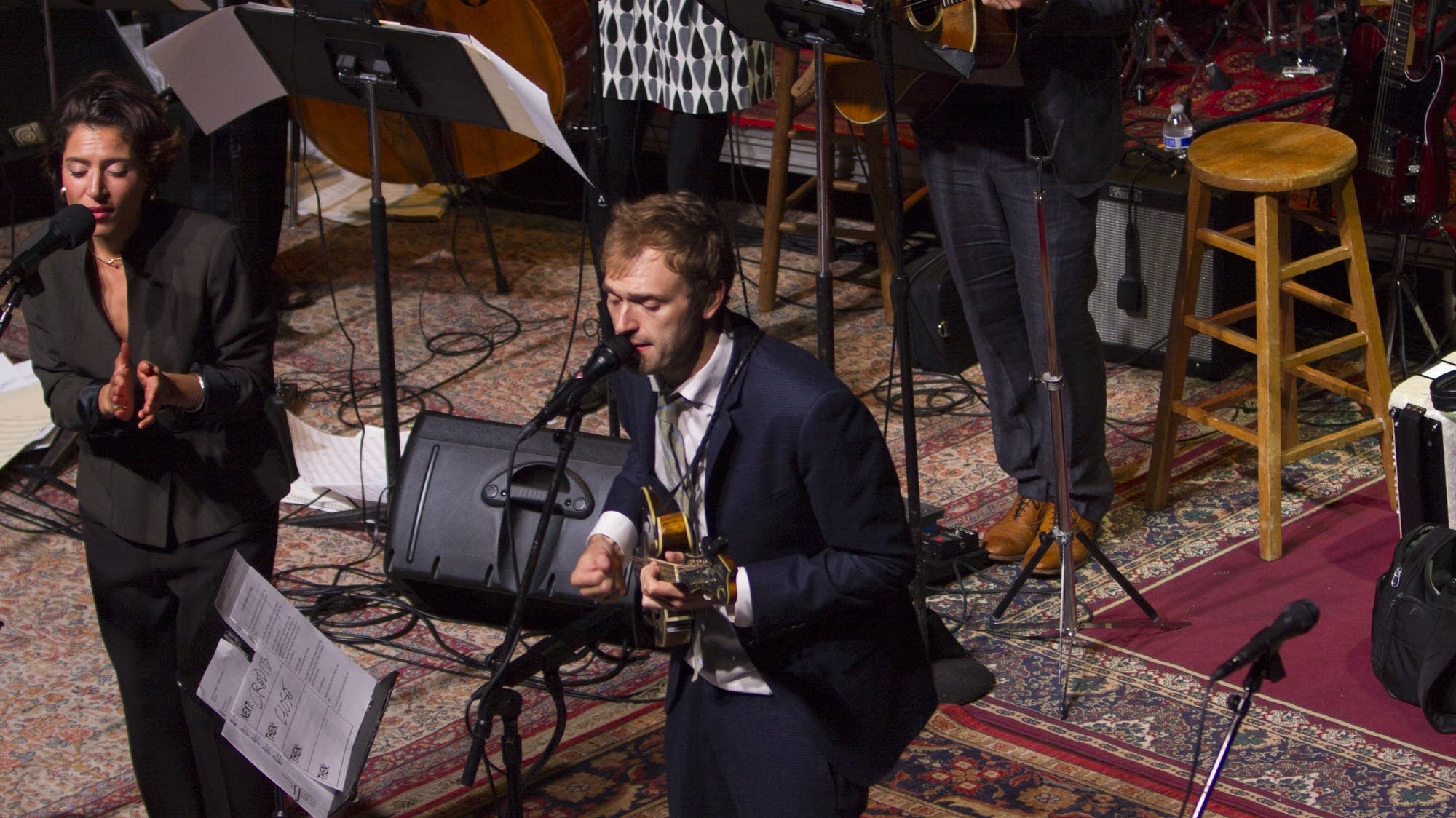 Chris Thile and Emily King