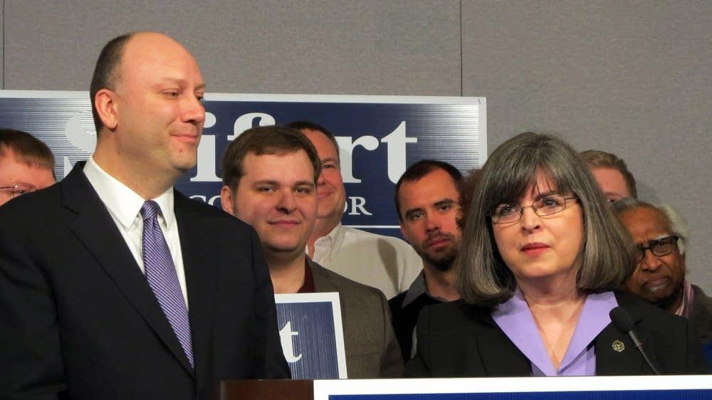 Seifert announces Myhra as running mate