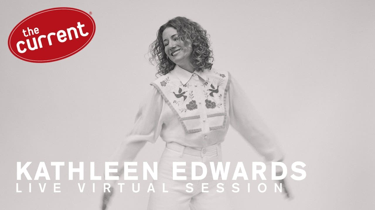 Kathleen Edwards Live Virtual Session flyer.