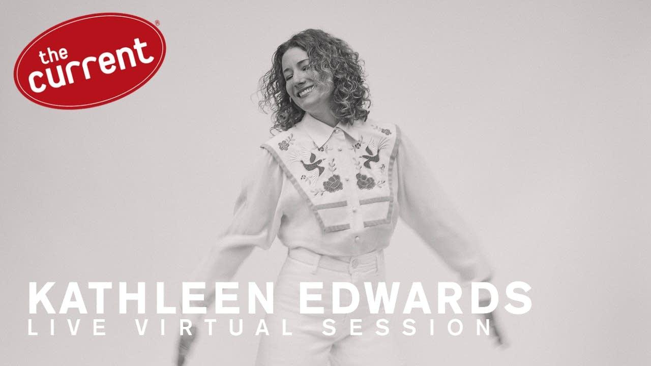 Kathleen Edwards Live Virtual Session flyer.