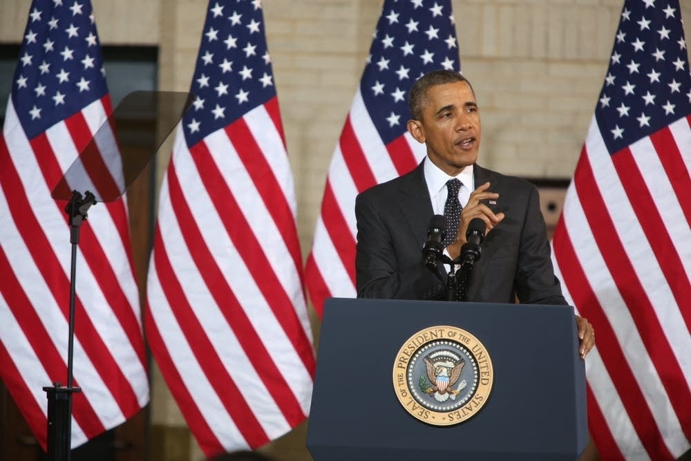 President Obama at the Union Depot