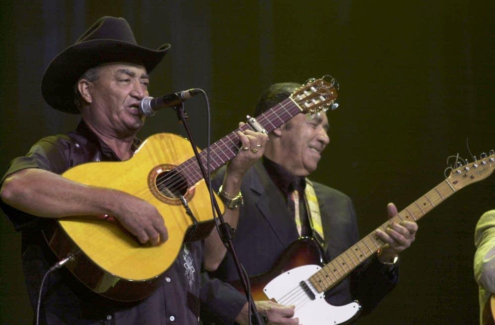 Eliades Ochoa and Manuel Galban