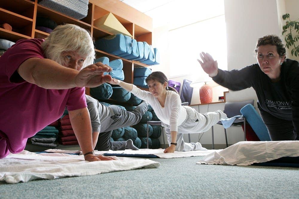 UCSF Cancer Center yoga