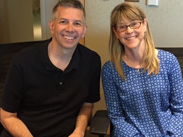 Steve Staruch with Lauri Nelson
