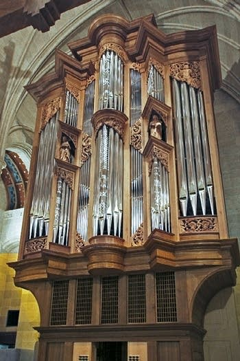 2008 Fritts organ at Sacred Heart Cathedral, Rochester, New York