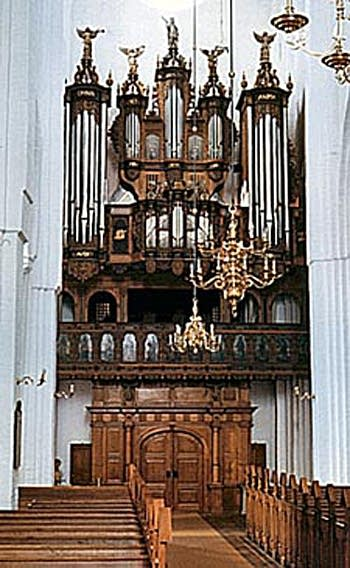 1977 Marcussen organ at Haderslev Cathedral, Denmark