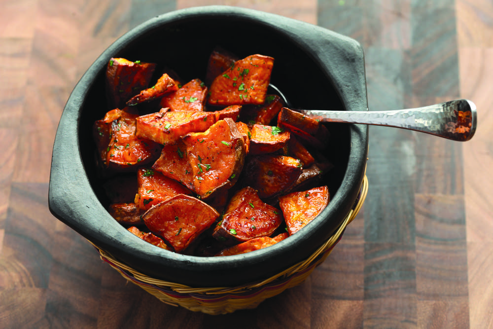 Extra-sweet roasted sweet potatoes