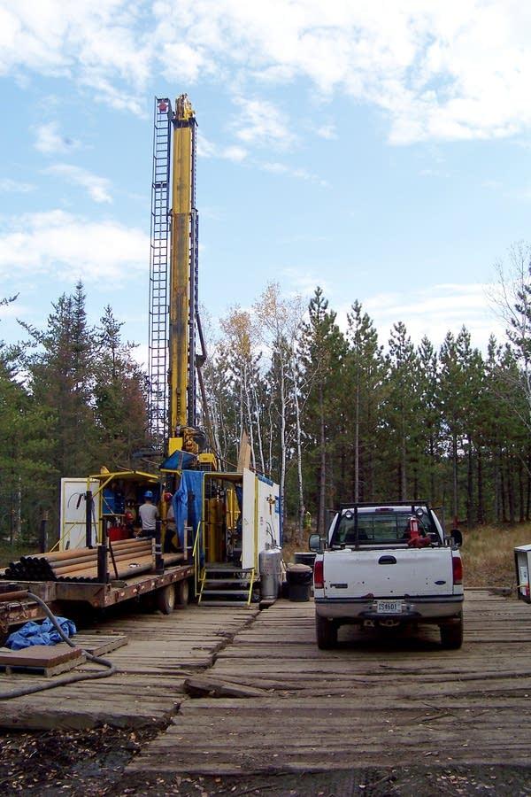 Copper-nickel mining