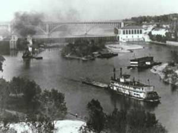 Dam in 1925