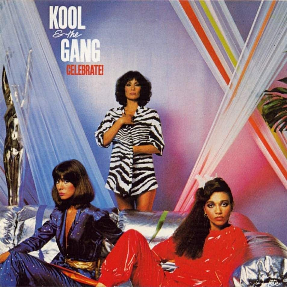 Kool and the Gang Celebrate album cover
