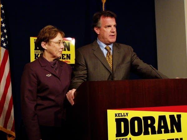 Kelly Doran and Sheila Kiscaden