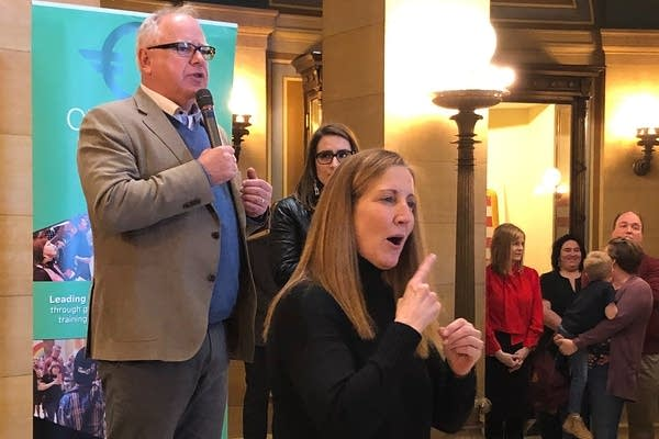 "Gov. Walz urges lawmakers to pass a ban on ""conversion therapy"" for minors"