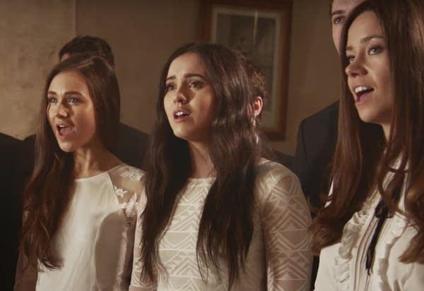 A still from the 'Gartan Mother's Lullaby' video