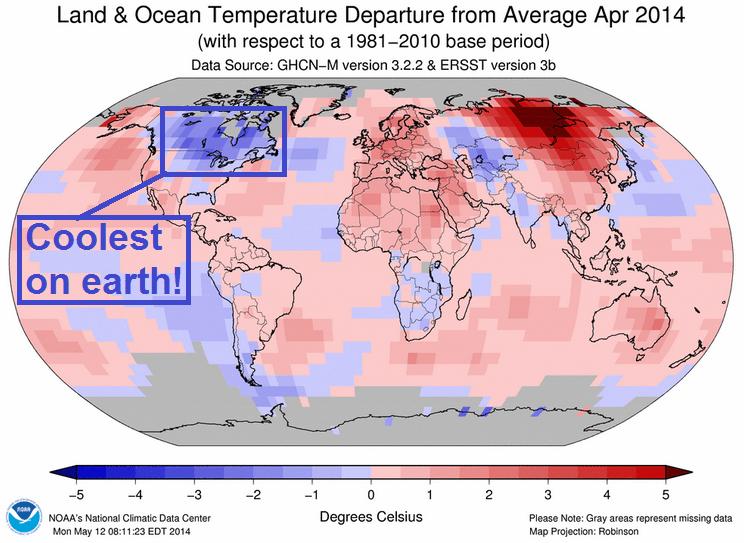 1521 April global temps