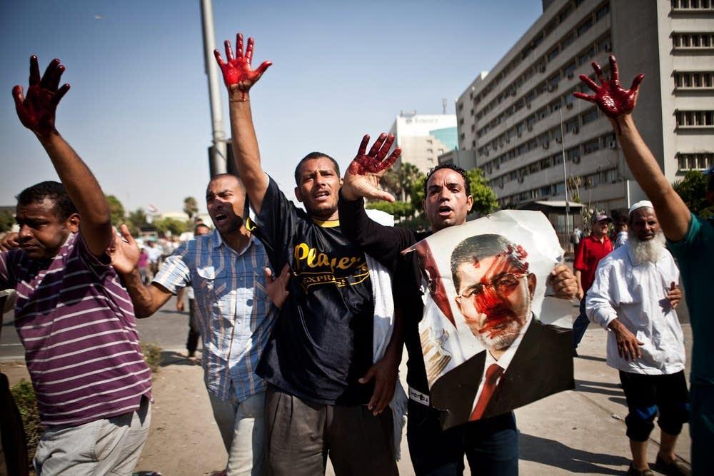 Islamist protesters