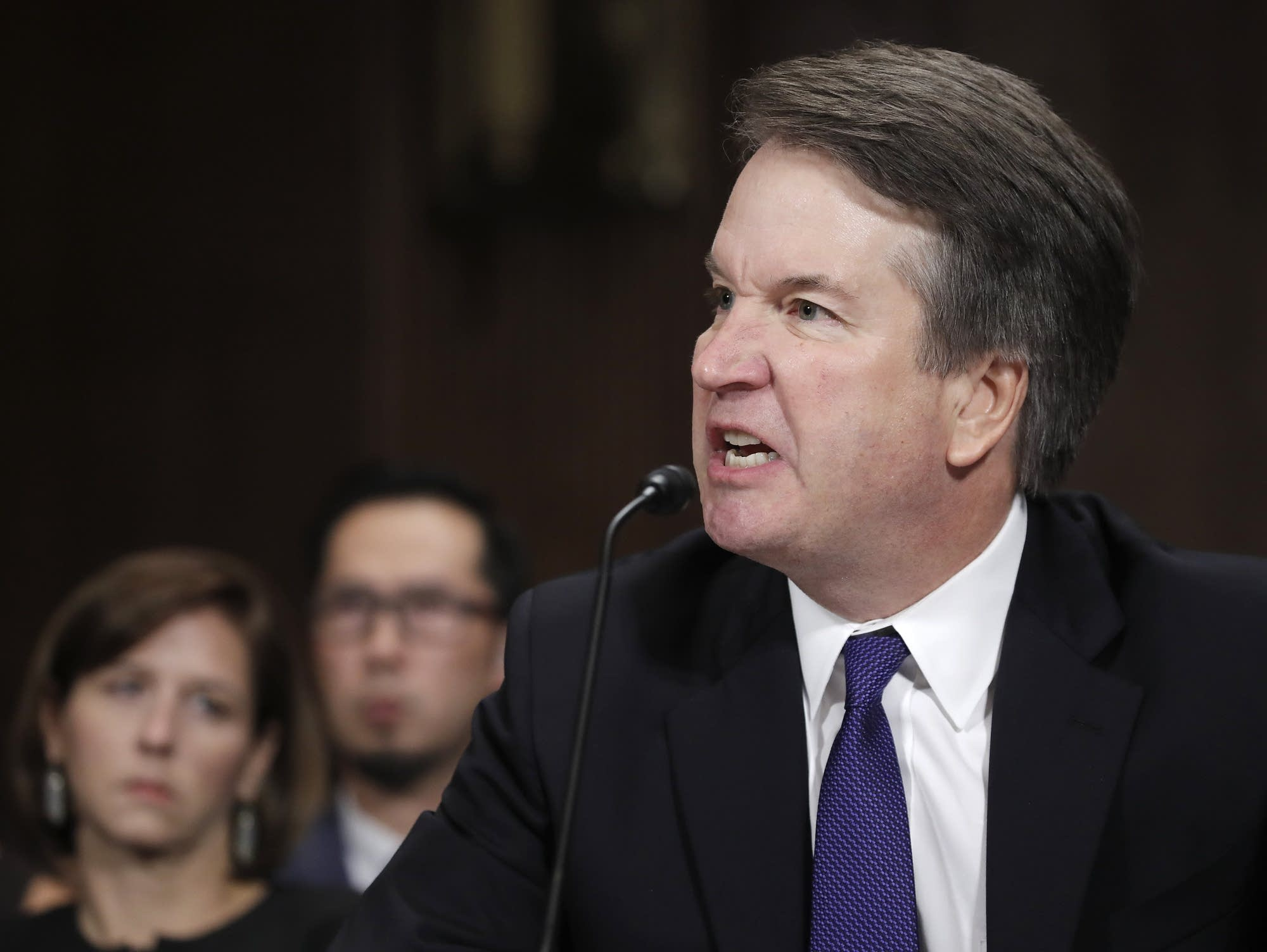 Supreme Court Nominee Brett Kavanaugh testifies