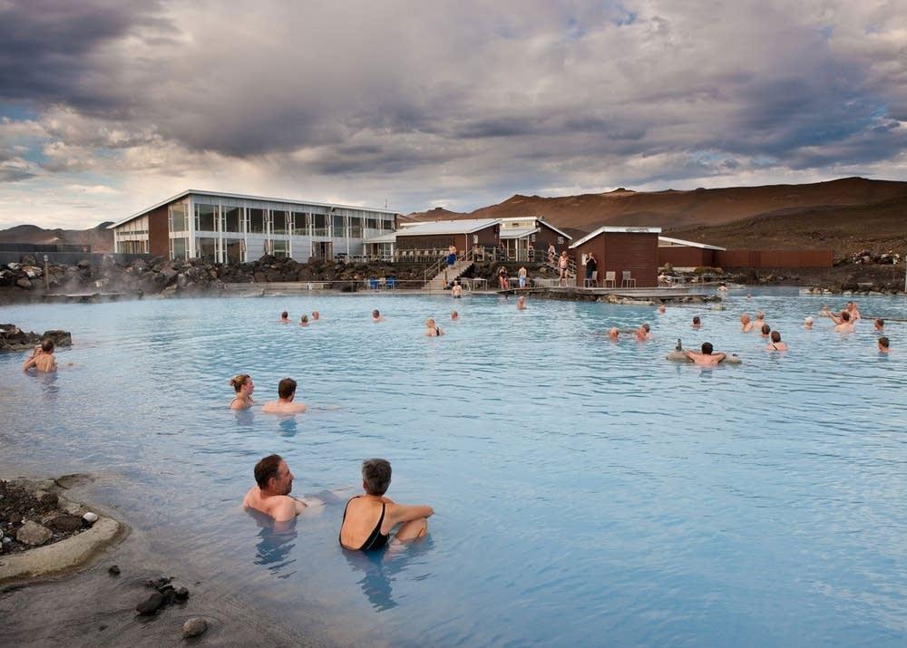 Lake Myvatn Nature Baths in Iceland
