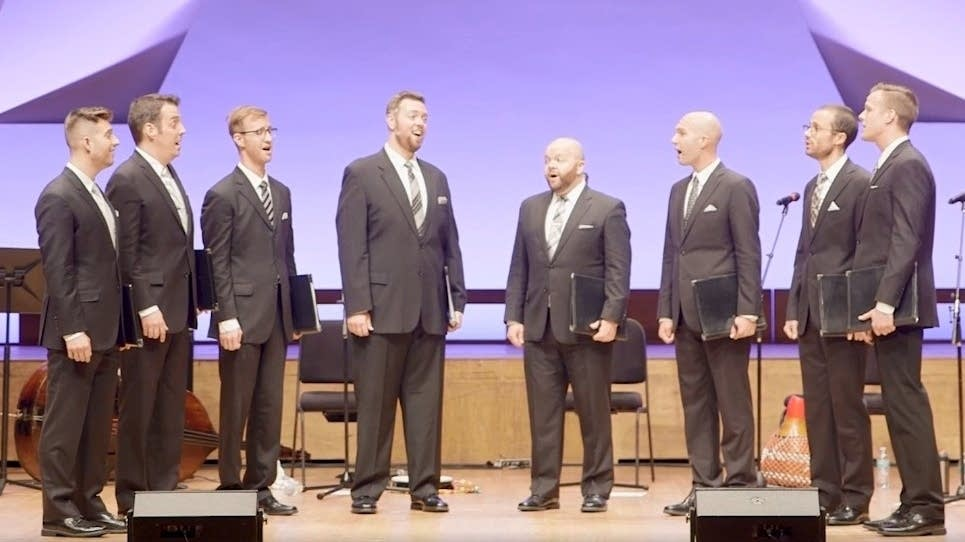 Cantus performs in 2017.