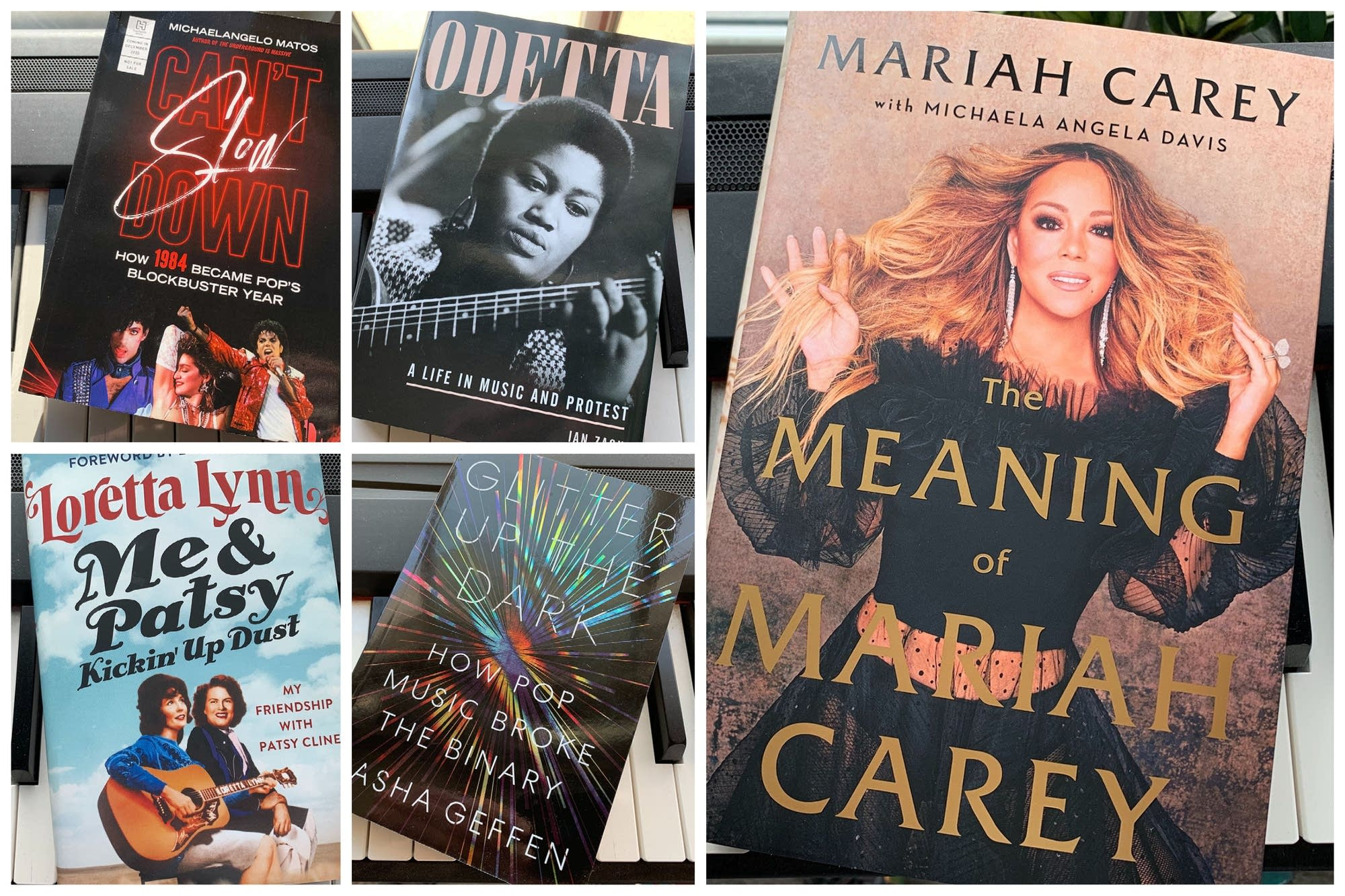 Five of the best music books of 2020.