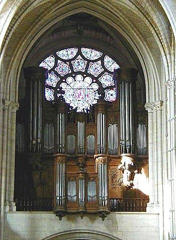 1899 Didier organ at Cathédrale Notre Dame, Laon, France