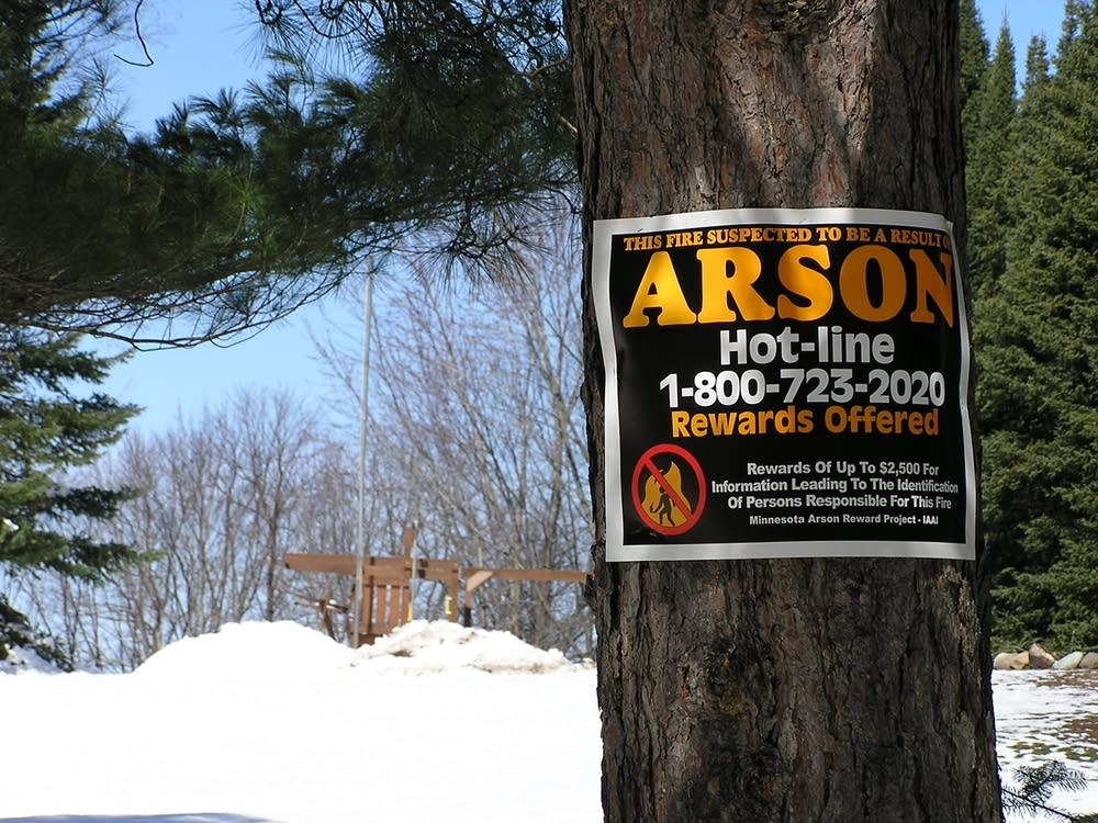 Arson tips