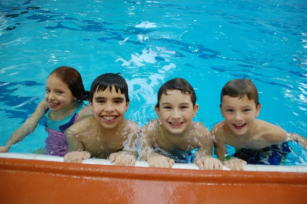 Young swimmers