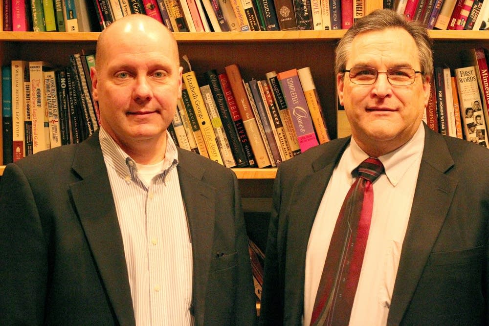 State Sens. Dave Thompson and Kenneth S. Kelash