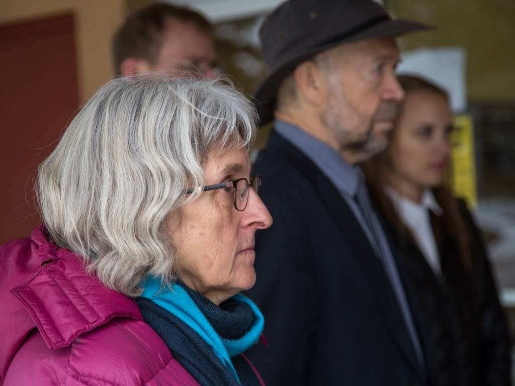 Annette Klapstein (front) is a retired attorney.