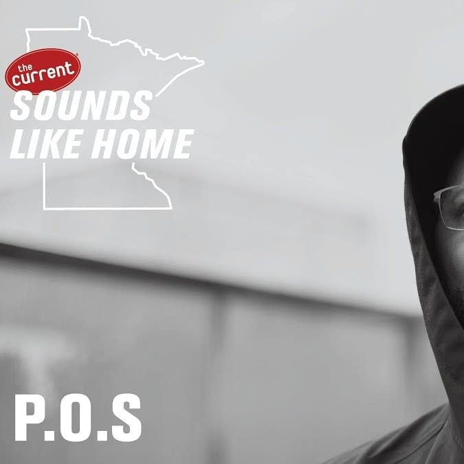 Digital flyer for P.O.S's Sounds Like Home performance.