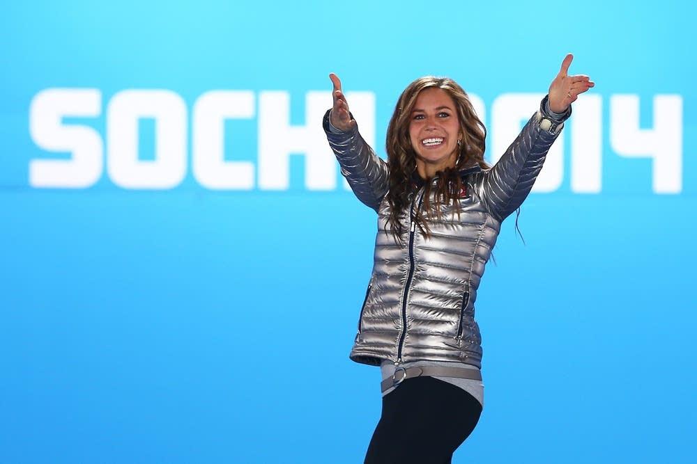 Silver medalist Noelle Pikus-Pace
